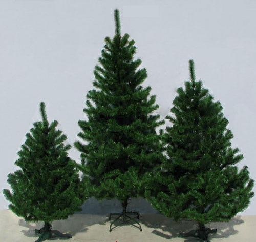 высота искусственной елки