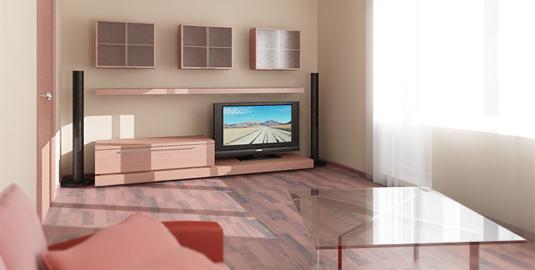 Как зрительно увеличить пространство комнаты в малогабаритной квартире?