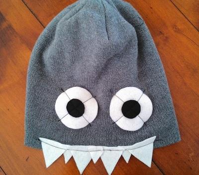 Как сшить зимние шапки в виде животных