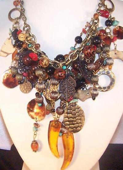Как сделать модное и оригинальное ожерелье