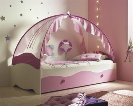 """Современный вариант балдахина над кроватью """"принцессы"""""""