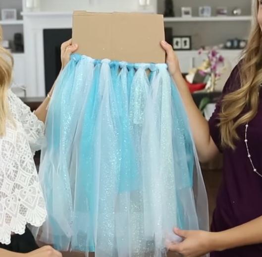 Как сделать детскую юбку из фатина (юбку-пачку, юбку туту)?