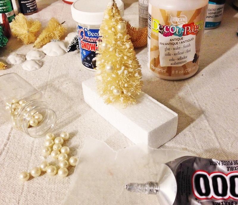 Как сделать мини елку для новогоднего декора?