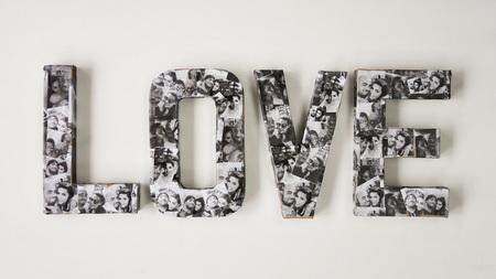 Как сделать большие буквы «LOVE» для подарка на 14 февраля?