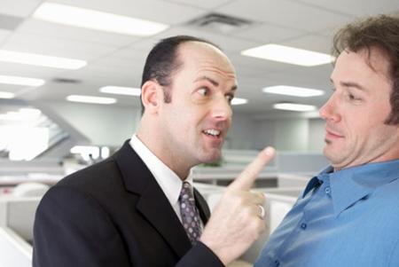 Постоянными чрезмерными требованиями и грубым обращением с сотрудниками вы создали в офисе обстановку, при которой в воздухе витает перманентная стрессовая атмосфера...