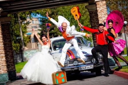 Как организовать свадьбу в стиле стиляг