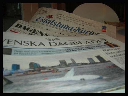 шведские газеты