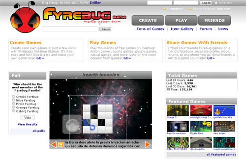fyrebug.com - делаем игры своими руками