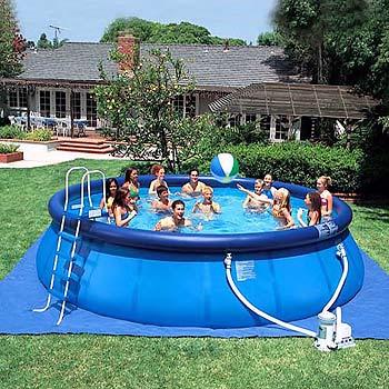 Как выбрать мобильный бассейн