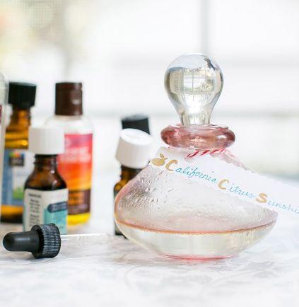 Как сделать свои собственные духи с легким цитрусовым ароматом