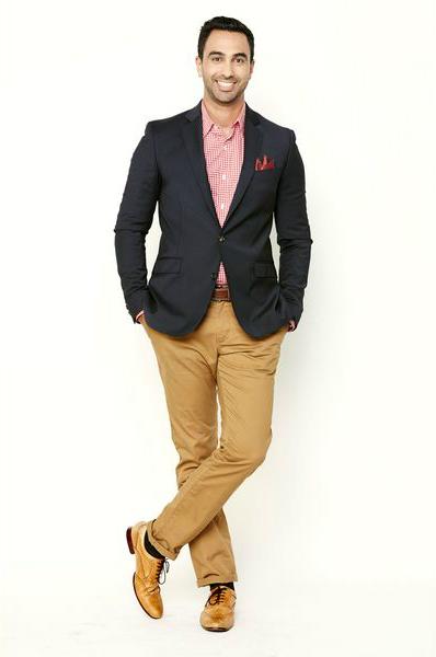 мужской образ для отдыха с пиджаком от костюма