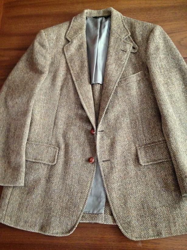 Идеальный мужской твидовый пиджак спортивного кроя