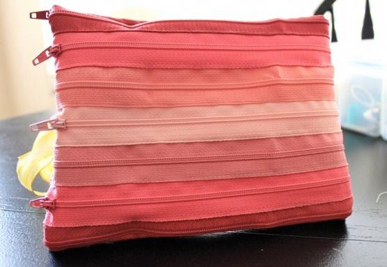 Как сшить разные варианты дамских сумочек из молний