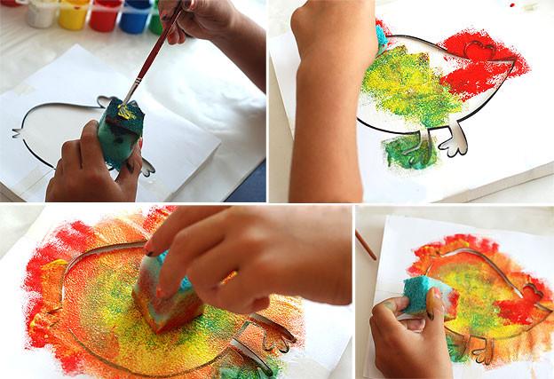 Как рисовать с детьми самыми необычными и оригинальными способами