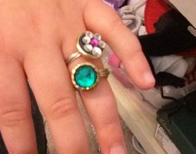 Как сделать оригинальное кольцо из подручных материалов
