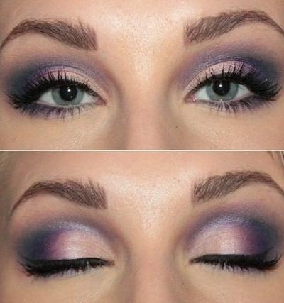 Как сделать весенний макияж глаз