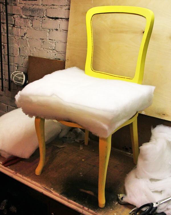 Как изменить старое кресло своими руками 22