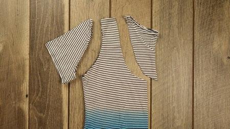 Как сшить модную сумку из обычной футболки?