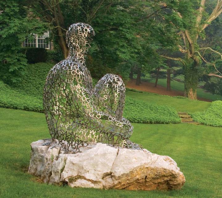 современная скульптура для сада ландшафтный дизайн