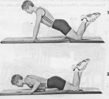 Как научиться отжиматься от пола?