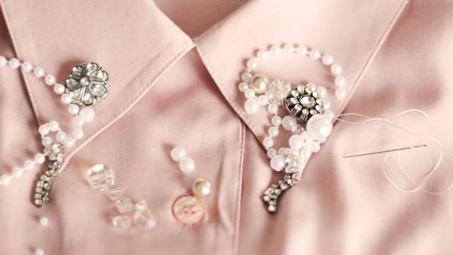Как обновить старую блузку. Часть 2