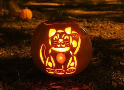 Как сделать оригинальную тыкву на Хэллоуин