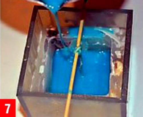 Как сделать декоративную свечу «Воспоминание о море»
