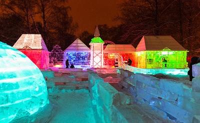 Как выглядит музей снега и льда в Москве