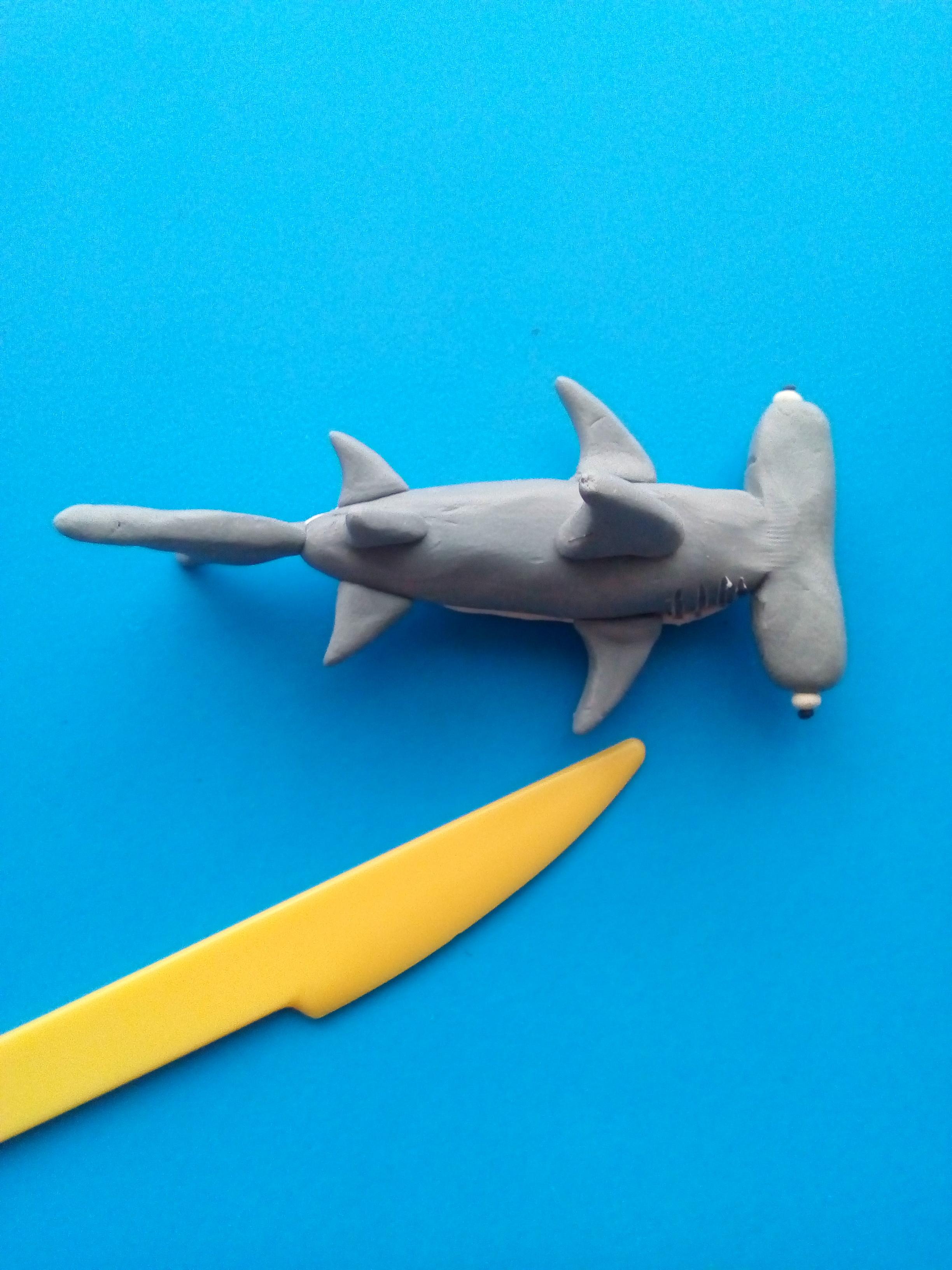 также можете как слепить акулу из пластилина фото искать