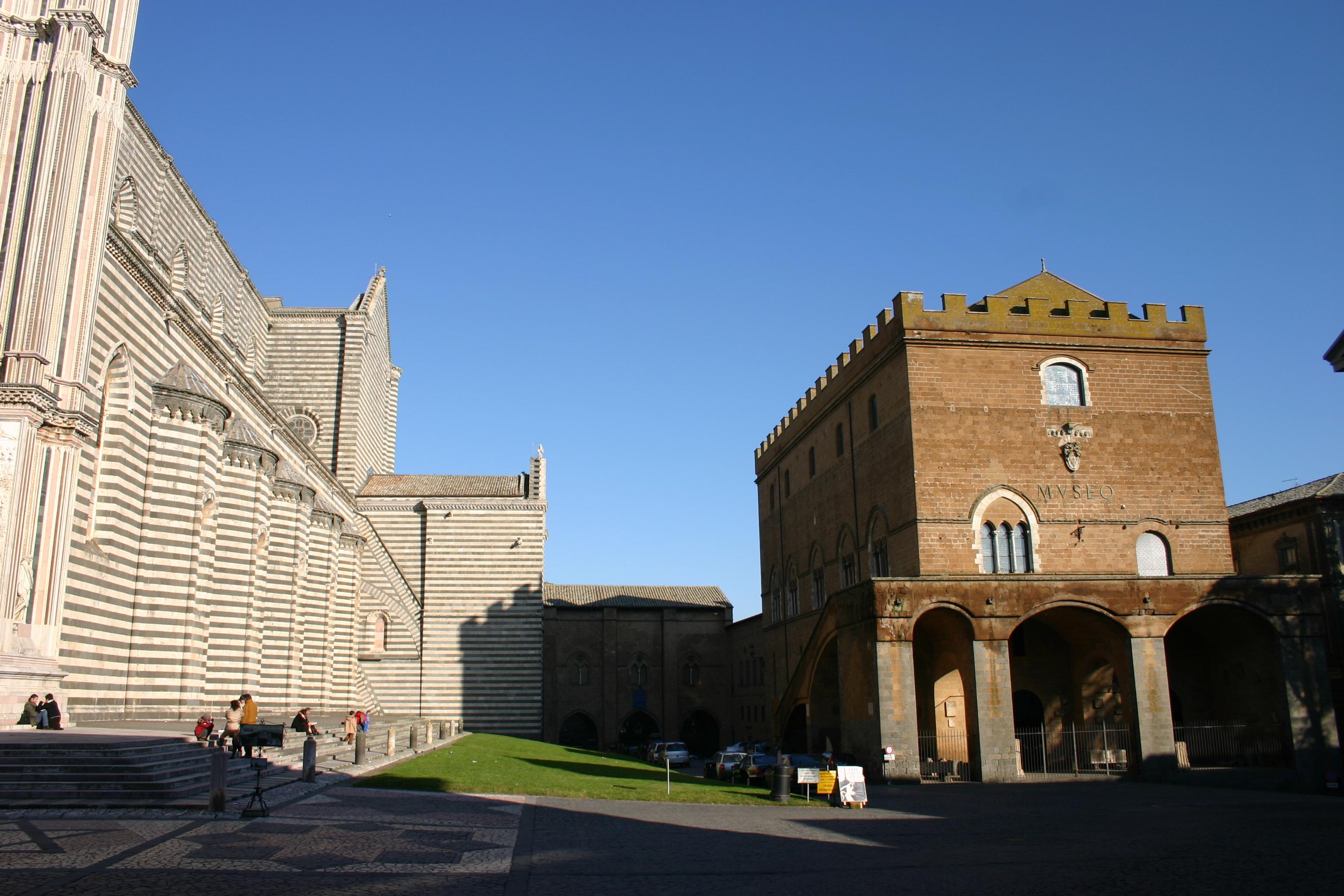 Орвието, город Италия Кафедральный собор Il Duomo di Orvieto Музей произведений Дуомо