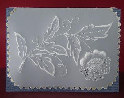 Как рисовать в технике пергамано