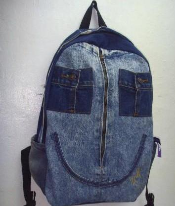 Как сшить рюкзак из старых джинс