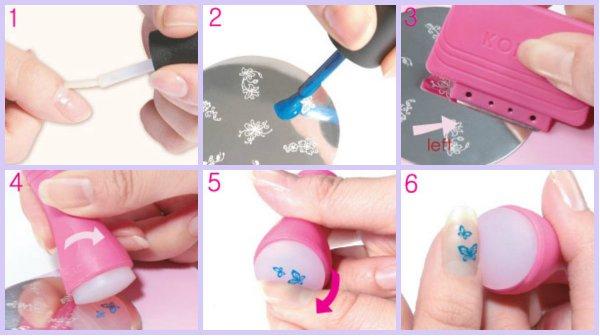 Как сделать стемпинг на лаке и гель-лаке