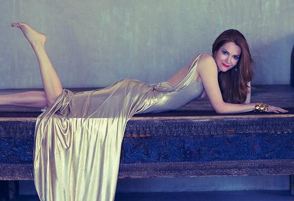 мода 2014: вещи цвета жидкого золота