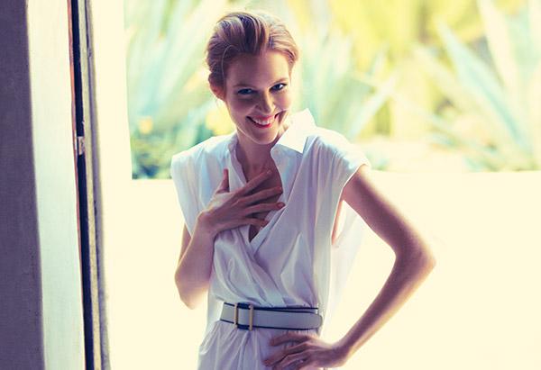 мода 2014: женственные платья-рубашки с новыми деталями кроя
