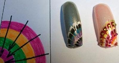 Как сделать нейл-арт с перьями