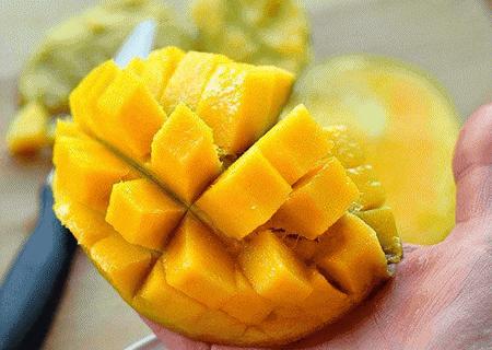 Как правильно резать манго?