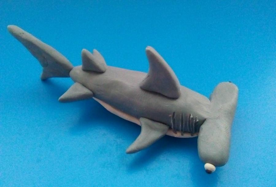 как слепить акулу из пластилина фото блузки для