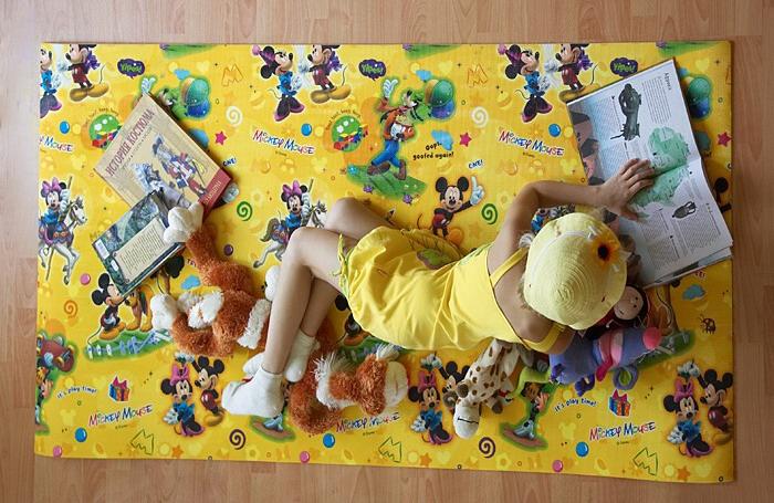 Как выбрать коврик в детскую комнату?