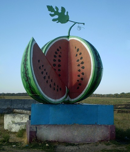 памятник арбузу на Украине