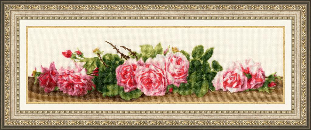 Вышивка крестом СЖ-043 Розовый аромат