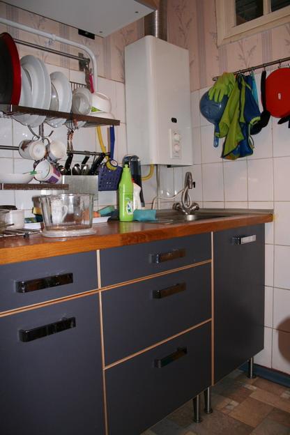 Маленькие кухни с газовой колонкой дизайн