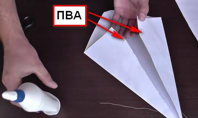 Как сделать воздушный змей из бумаги-7