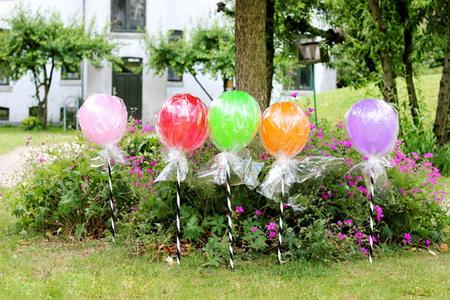 Как использовать воздушные шары необычным способом?