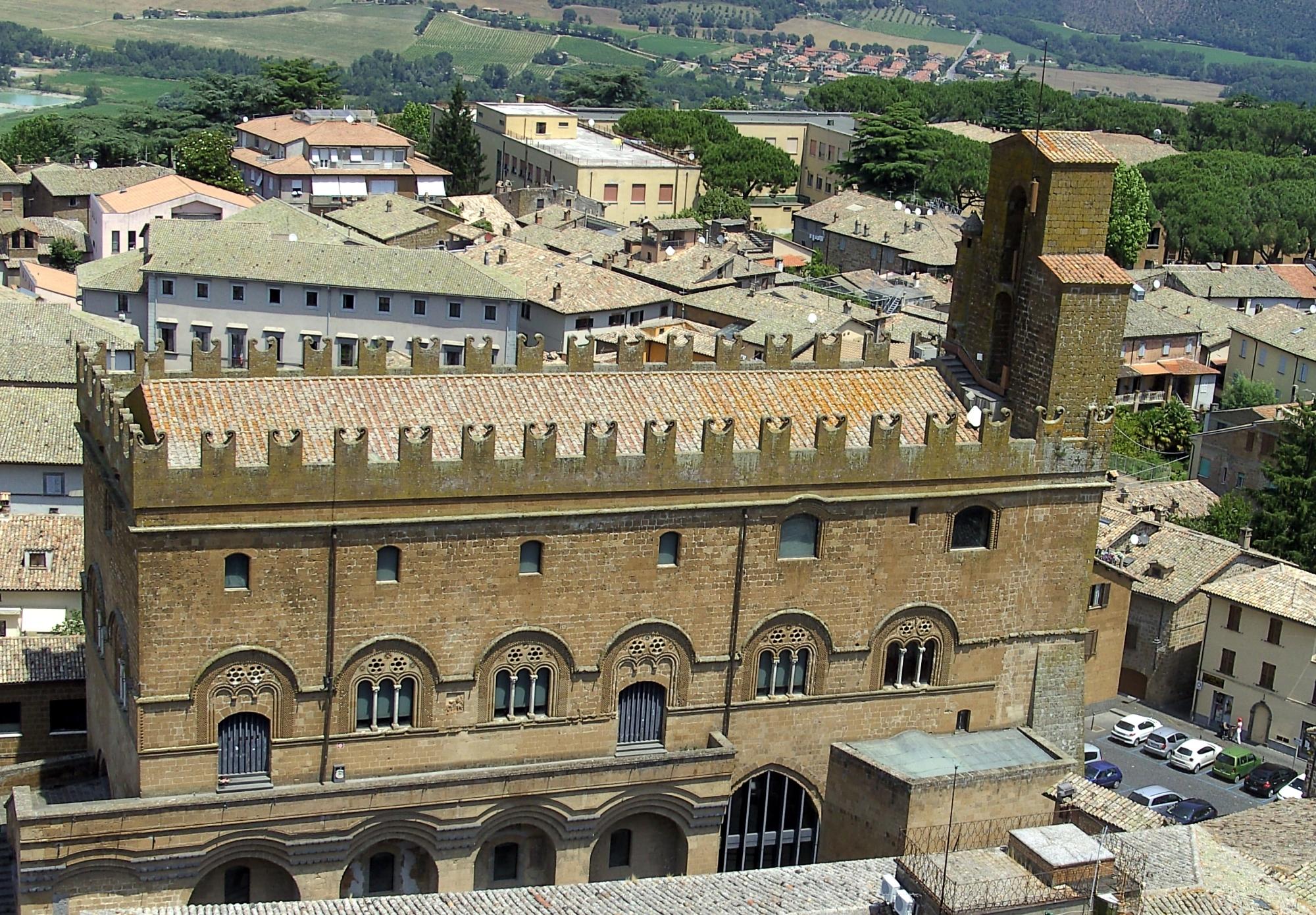 Орвието Италия Дворец капитана народа
