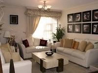 Нередко гостиная, детская или спальня находится в северной части дома