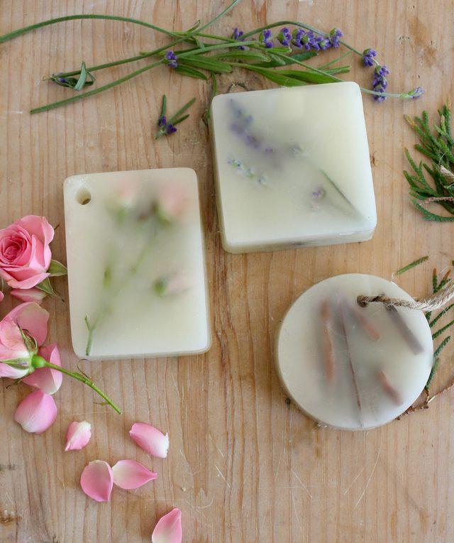 Как ароматизировать ванную комнату: декоративные восковые арома-бруски/саше