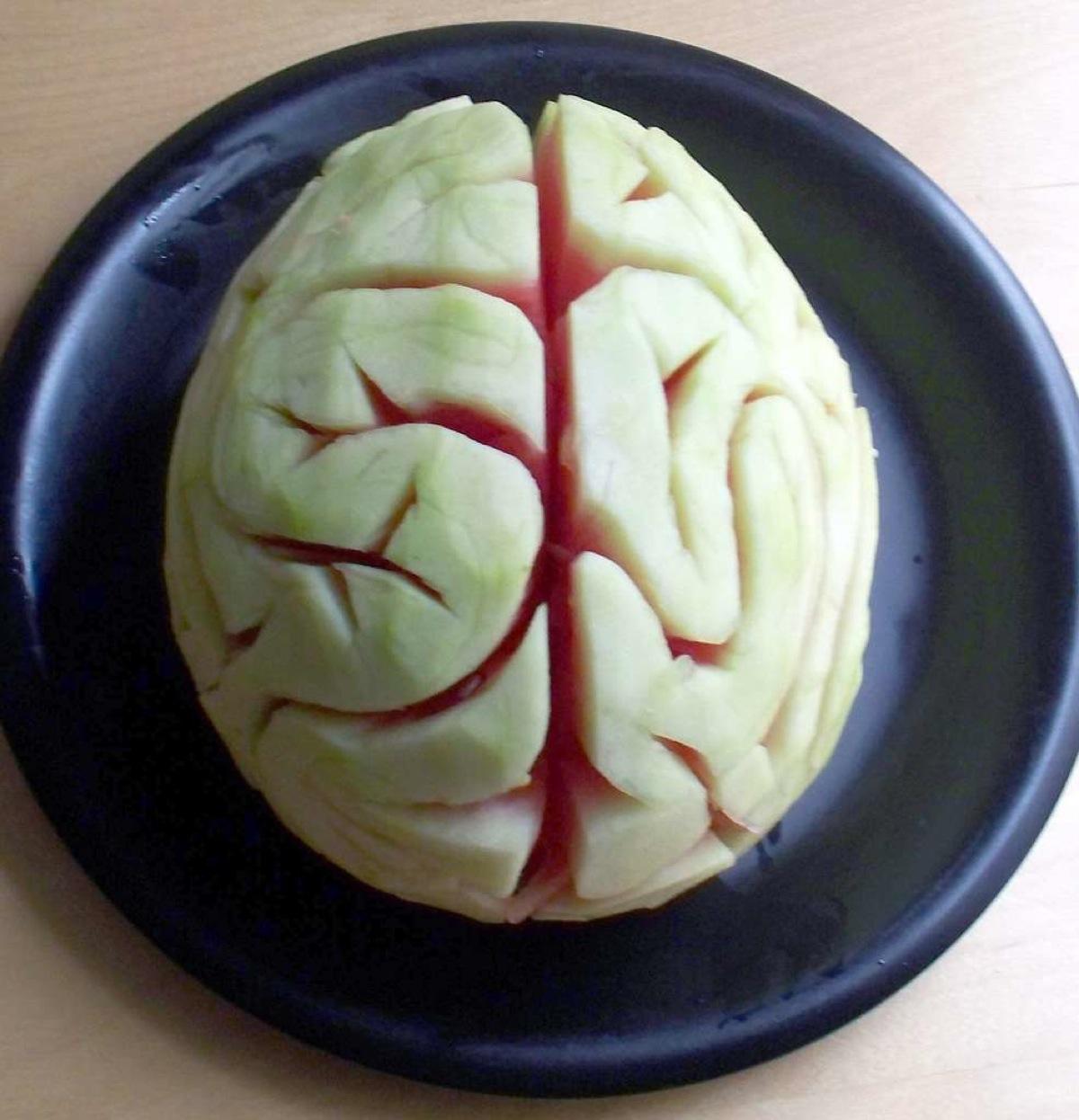 карвинг - мозг из арбуза