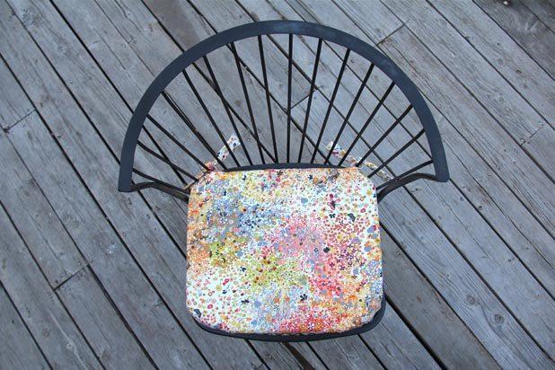 Как апгрейдить жесткий стул: шьем дачные сидения средней мягкости и с завязками