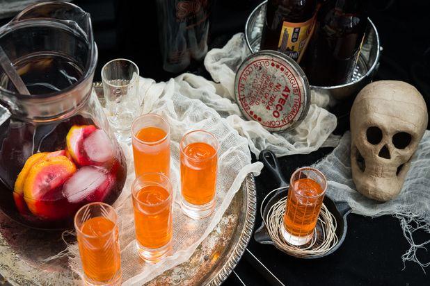 алкогольные игры на Хэллоуин